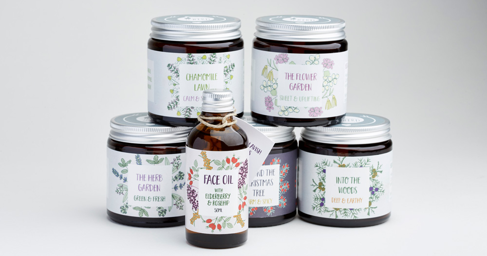 Laughing Bird new product packaging by Sarah Callender Design