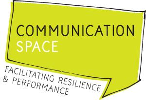 Communication Space logo design
