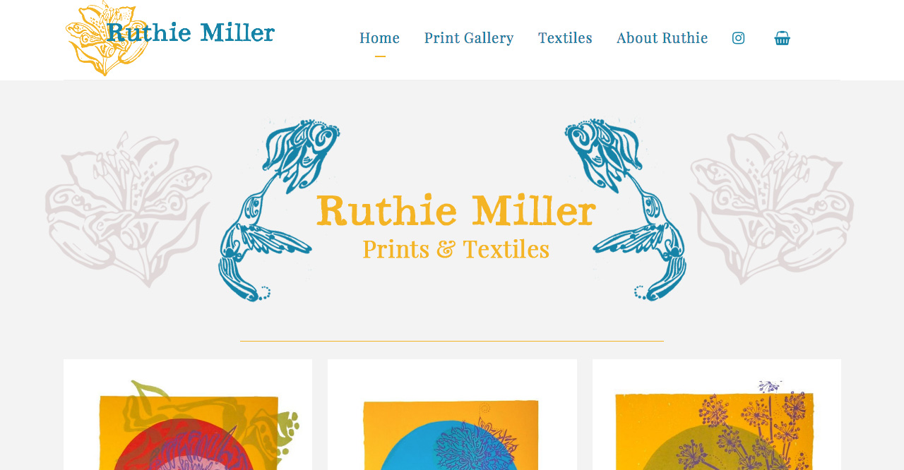 Ruthie Miller Art website design